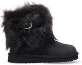UGG Ellee leather and sheepskin boots
