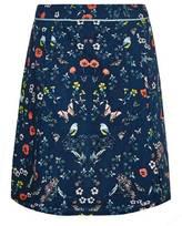 Yumi Mirrored Poppy Skirt