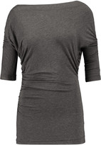 Bailey 44 Tapir ruched stretch-jersey top