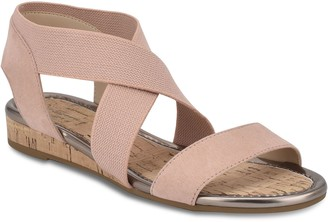 Bandolino Wedge Cork Pull-On Sandals - Kenly