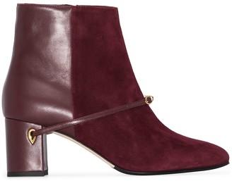 Jennifer Chamandi Danilo 65mm ankle boots