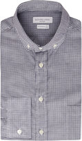 Richard James Contemporary-fit Gingham Cotton Oxford Shirt