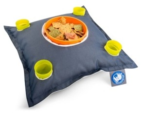 Pool' Drift and Escape Stratus Swimming Pool Floating Bean Bag Drink Holder