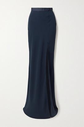 Laura Garcia - Adrianna Silk Maxi Skirt - Navy