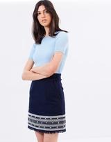 Whistles Selina Embroidered Skirt