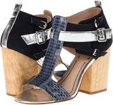 Elizabeth and James Carri (Blue Multi Snake) - Footwear