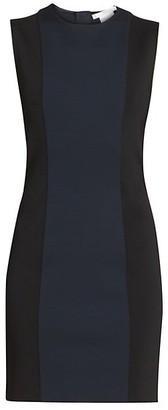 Givenchy Bicolor Punto Milano Sheath Dress