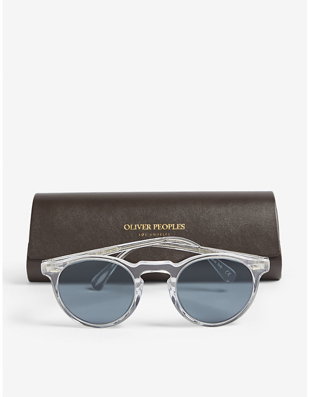 Thumbnail for your product : Oliver Peoples Gregory Peck Phantos sunglasses