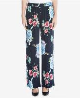 Karen Kane Floral-Print Wide-Leg Pants