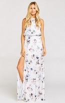 MUMU Heather Halter Dress ~ Bouquet Beauty