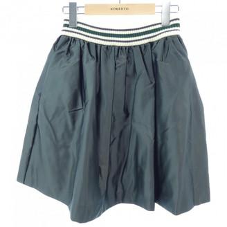 Miu Miu Green Skirt for Women