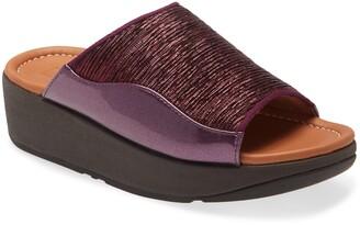 FitFlop Myla Glitz Wedge Slide Sandal