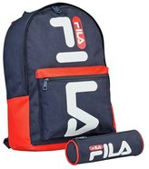 Fila Backpack and Pencil Case - Blue