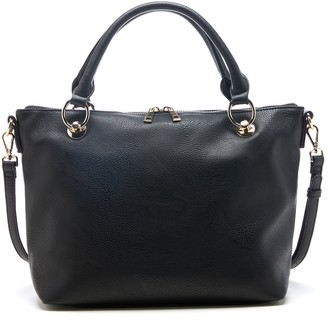 Sole Society Faux Leather Satchel