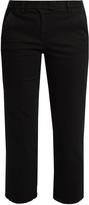 Masscob Frayed-hem cotton-gabardine trousers