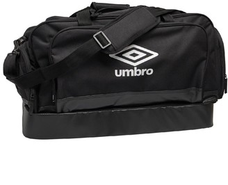 Umbro Pro Team Medium Hardbase Holdall Black/White