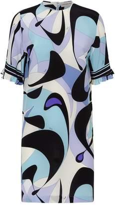 Emilio Pucci Alex Print Shift Dress