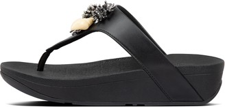 FitFlop Fino Under-The-Sea Toe-Post Sandals