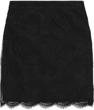 Emilio Pucci Corded Lace Mini Skirt
