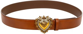 Dolce & Gabbana Heart Buckled Belt