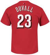 Majestic Men's Adam Duvall Cincinnati Reds Official Player T-Shirt