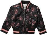 Urban Republic Floral Sateen Bomber Jacket (Baby Girls)