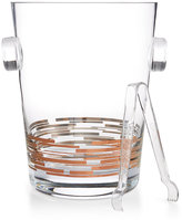 Martha Stewart Collection 2-Pc. Copper Ice Bucket & Tongs Set