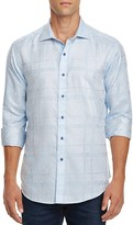 Robert Graham Morley Jacquard Classic Fit Button-Down Shirt