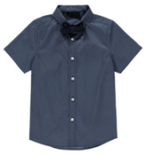 George Formal Polka Dot Shirt and Bow Set