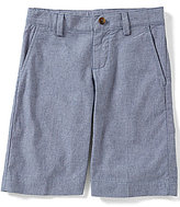 Brooks Brothers Little/Big Boys 4-20 Chambray Flat-Front Shorts
