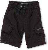 DKNY Caviar Flat-Front Cargo Shorts - Boys