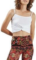 Topshop Women's Knot Front Crop Camisole