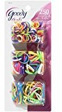 Goody Girls Bright And Bold Elastics 250 Count (4-Pack)