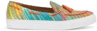 Raparo Stitched Stripe Loafer Sneakers