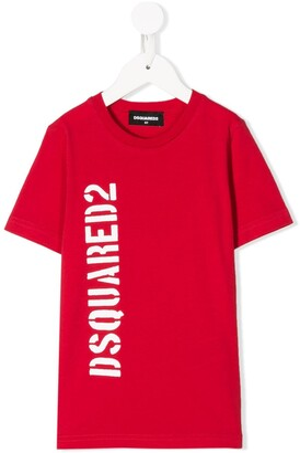 DSQUARED2 logo-printed T-shirt