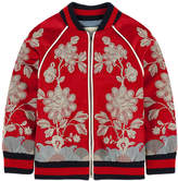 Gucci Bomber jacket with lurex embroideries