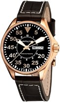 Hamilton Men's H64445595 Khaki Night Pilot Day Date Dial Watch