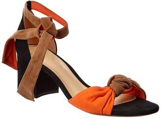 Alexandre Birman Kace 60 Suede Ankle Strap Sandal