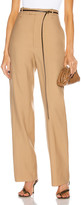 Bottega Veneta Tailored Pant in Camel | FWRD