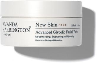 Amanda Harrington New Skin Advanced Glycolic Facial Pads