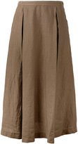 Aspesi full midi skirt - women - Linen/Flax - 40
