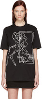 Givenchy Black Bambi T-Shirt