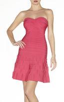 Herve Leger Arlene Novelty Essentials Dress