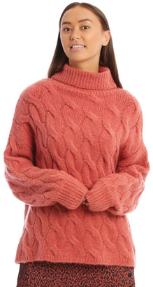 Milk and Honey Oversized Cable Jumper