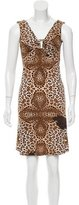 Roberto Cavalli Cheetah Print Mini Dress