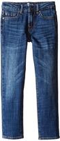 7 For All Mankind Kids - Standard Vintage Straight Leg Denim Jeans in White Boy's Jeans
