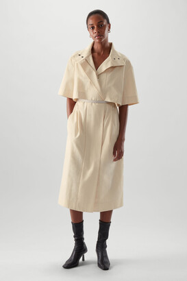 Cos Cotton Mac Coat