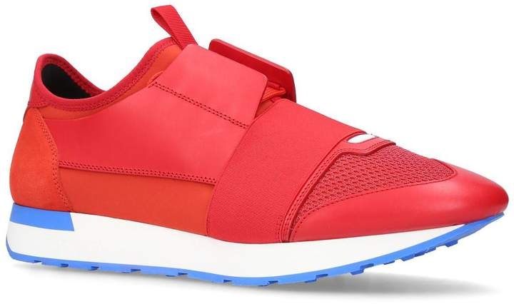 Balenciaga Panelled Race Runner Sneakers