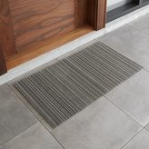 "Crate & Barrel Chilewich ® Birch Striped 24""x48"" Doormat"