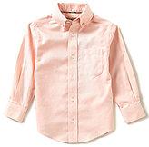 Class Club Gold Label Little Boys 2T-7 Textured Dress Shirt